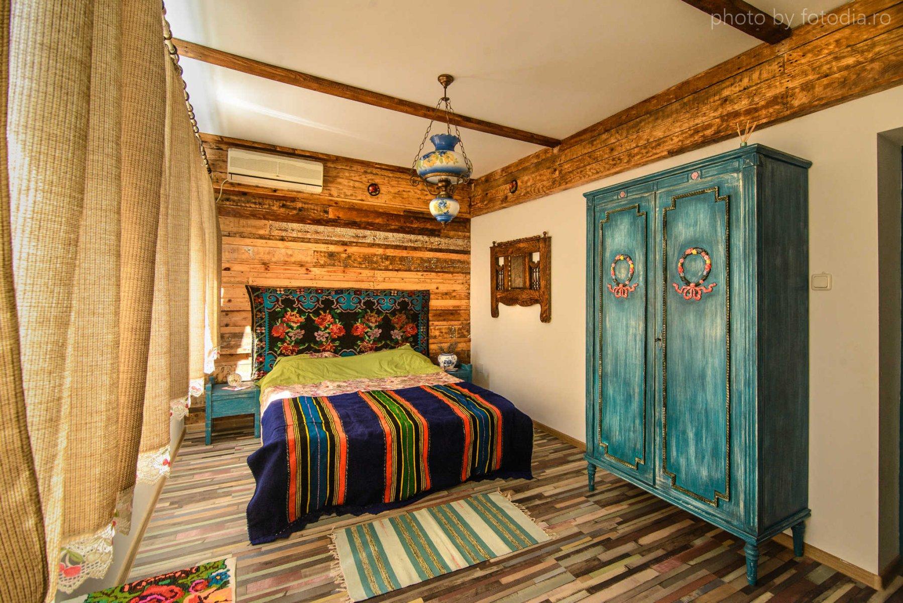 """Interior cameră cazare """"Cuibul de la Mare"""", cazare pensiune Corbu"""