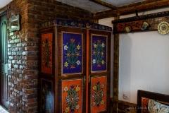 """mobilier pictat """"pavilion gradină"""""""
