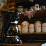 """Cafetieră, """"Cuibul de la Mare"""", cazare pensiune Corbu"""