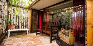 Cazare bungalow - pavilion gradină