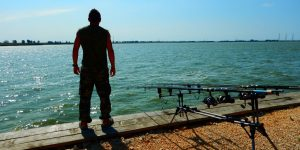 Pescuit Corbu la lacul Corbu
