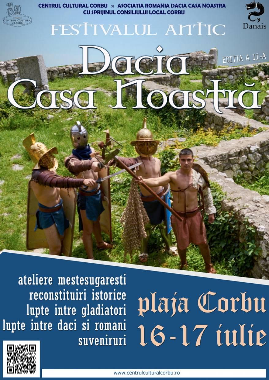festival antic Corbu