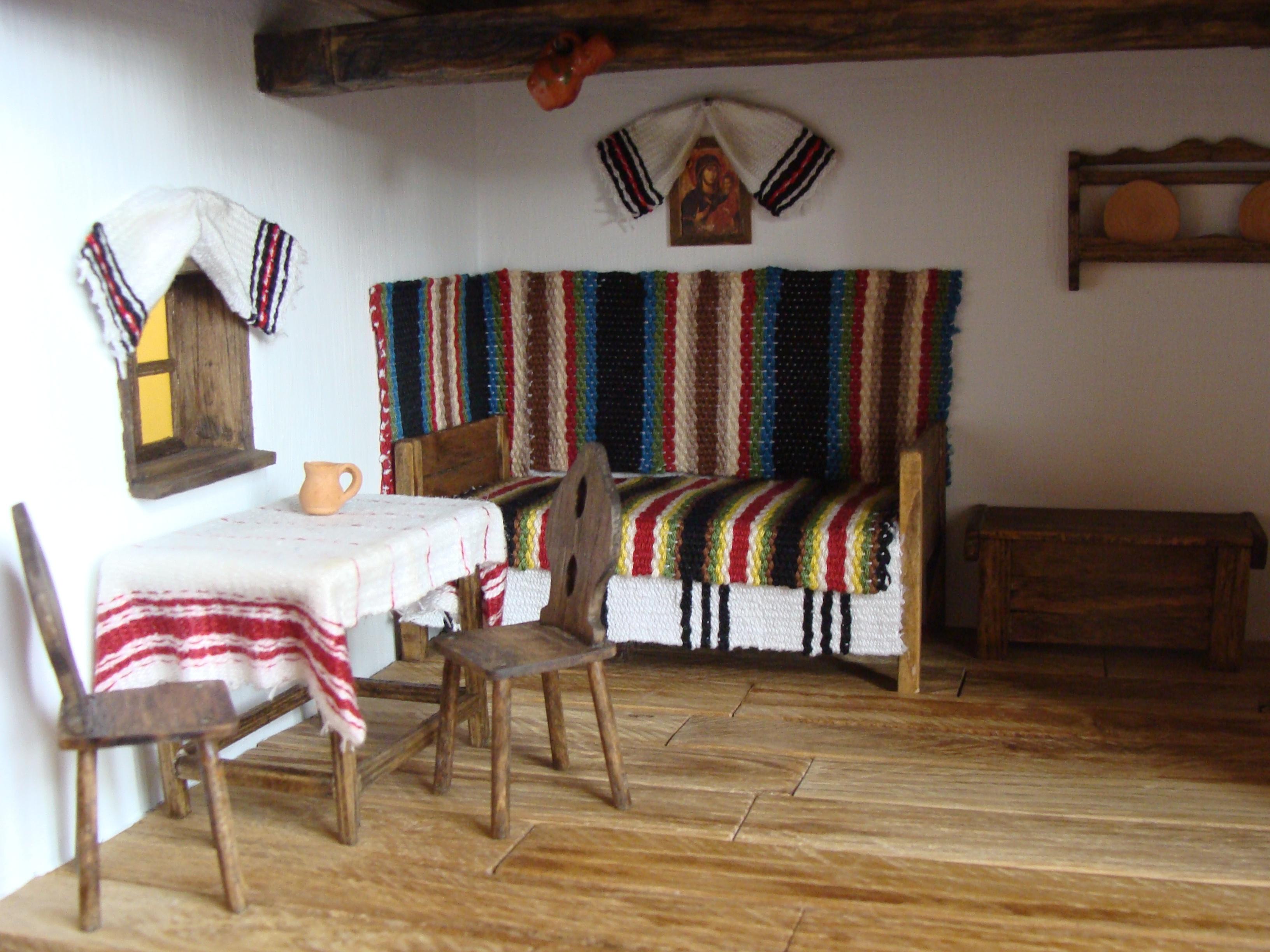 Casa ţăranească românească veche | Cuibul de la Mare, casă de vacanţă Corbu