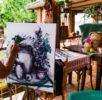 Tabara pictura Cuibul de la mare